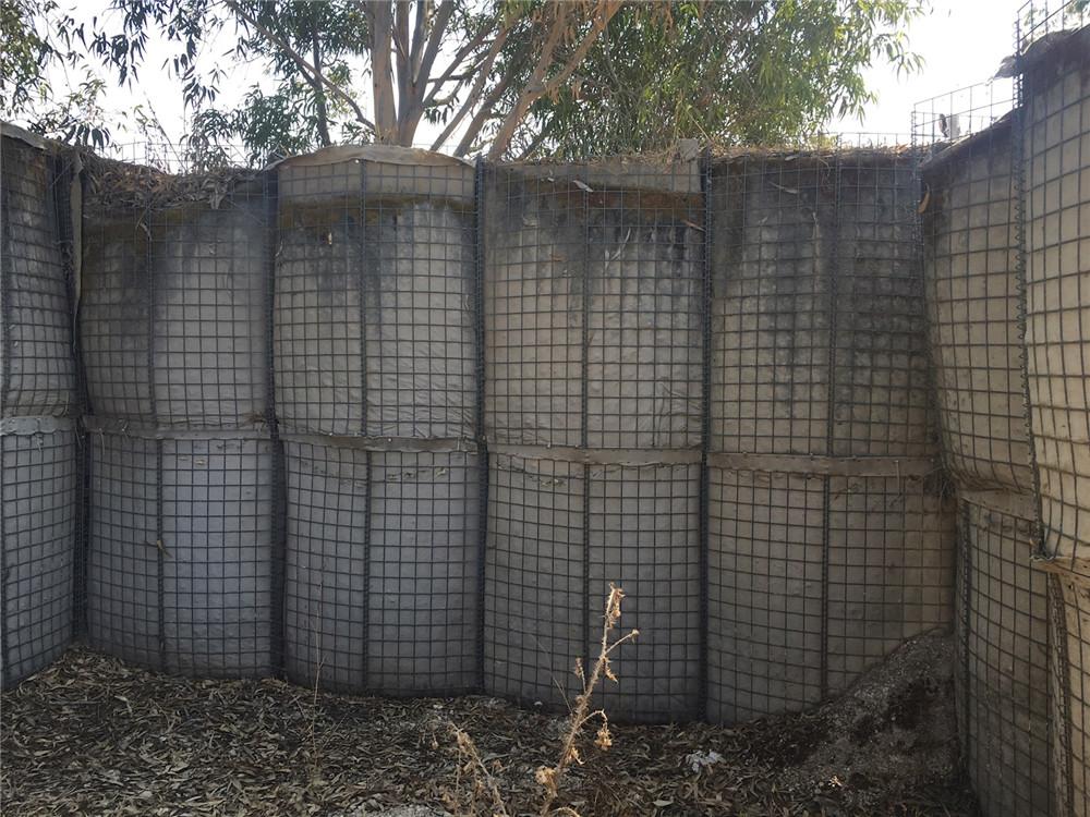 训练基地防爆墙